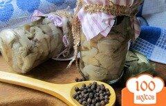 Фото рецепта: «Вешенки маринованные»