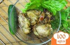 Фото рецепта: «Ароматные куриные бедра гриль.»