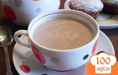 Фото рецепта: «Какао с молоком и корицей»