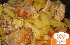Фото рецепта: «Жаркое из цыпленка»