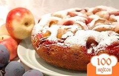 Фото рецепта: «Пирог в мультиварке на сметане»