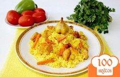 Фото рецепта: «Плов с куриным филе»