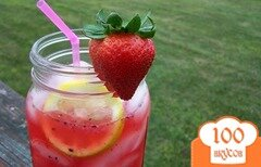 Фото рецепта: «Ягодный лимонад»