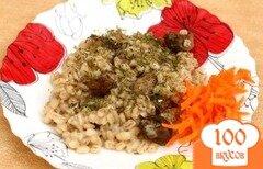 Фото рецепта: «Перловка с грибами в мультиварке»