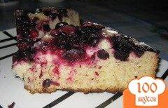 Фото рецепта: «Пирог со смородиной в мультиварке»