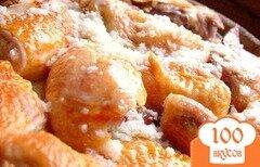 Фото рецепта: «Курица в чесночном соусе»