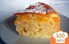 Фото рецепта: «Пирог с апельсинами в мультиварке»