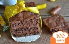 Фото рецепта: «Брауни с семечками»