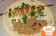 Фото рецепта: «Куриные шашлыки с лимоном»