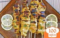 Фото рецепта: «Куриные шашлыки Тандури»
