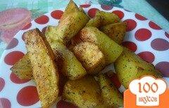 Фото рецепта: «Картофель по деревенски»