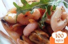 Фото рецепта: «Закуска из морепродуктов в сладком маринаде»