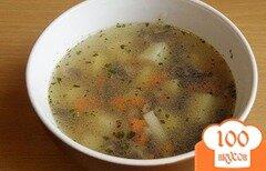 Фото рецепта: «Суп с шампиньонами в мультиварке»