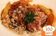 Фото рецепта: «Тефтели в грибном соусе»