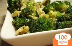 Фото рецепта: «Брокколи в фольге в духовке»