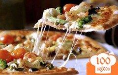 Фото рецепта: «Тонкое тесто для пиццы»