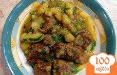 Фото рецепта: «Мясной соус с картошкой»