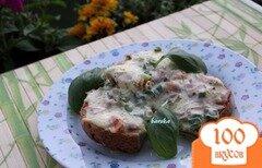 """Фото рецепта: «Горячие бутерброды """"Мужские""""»"""