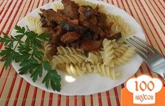 Фото рецепта: «Баклажаны с мясом»