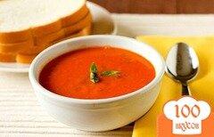 Фото рецепта: «Томатный суп с базиликом»