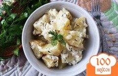 """Фото рецепта: «Картофельный салат """"Розмари""""»"""