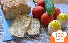 Фото рецепта: «Хлеб с луком в хлебопечке»