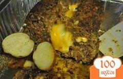 Фото рецепта: «Мясной хлеб чизбургер»
