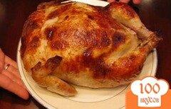 Фото рецепта: «Курица фаршированная блинами»