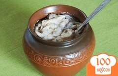 Фото рецепта: «Бануш с грибами»