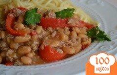 Фото рецепта: «Соус к пасте из белой фасоли со сладким перцем»