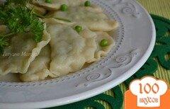 Фото рецепта: «Вареники с картофельно-гороховой начинкой»