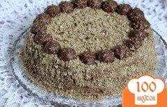 Фото рецепта: «Торт Ferrero Rocher»