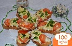 Фото рецепта: «Тосты с яйцом и помидором»
