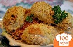 Фото рецепта: «Хрустящая запеченная курица»