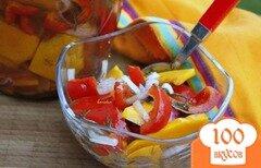 Фото рецепта: «Закусочные маринованные овощи»