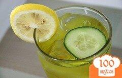 Фото рецепта: «Огуречный лимонад»