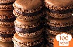 Фото рецепта: «Шоколадные Макаруны»