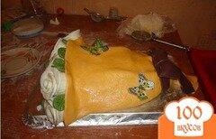 """Фото рецепта: «Торт """"Букет цветов""""»"""