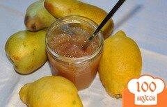 Фото рецепта: «Варенье из груш с лимоном»