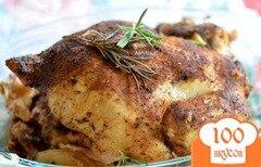 Фото рецепта: «Курица в медленноварке со специями и розмарином»