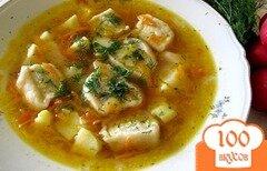 Фото рецепта: «Суп с пельменями в мультиварке»