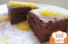Фото рецепта: «Брауни апельсиновый»