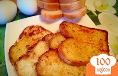 Фото рецепта: «Тосты с яйцом»