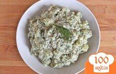 Фото рецепта: «Картофельный салат с укропом»