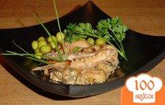 Фото рецепта: «Морской коктейль в сливочном соусе»
