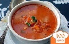 Фото рецепта: «Суп с овощами и ячменем»