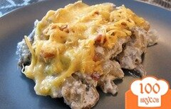 Фото рецепта: «Жульен с грибами»