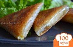 Фото рецепта: «Самса с сыром и абрикосами»