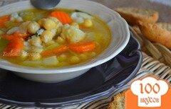 Фото рецепта: «Густой овощной суп с нутом»