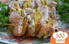 Фото рецепта: «Кебаб с семгой»